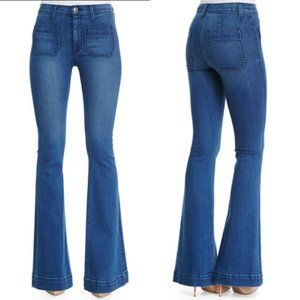 Hudson Taylor High Rise Flare Jeans